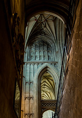 Canterbury Cathedral vaulted ceiling (philbarnes4) Tags: canterburycathedral church christianity religion faith kent england philbarnes dslr nikond80