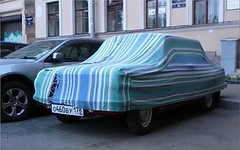 Zaz 968 under car cover (parshin1994) Tags: carcover