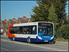 Stagecoach 27578 (Jason 87030) Tags: thanet loop service working help 27578 white red blue orange southeast eastkent 2018 february marateroad ramsgate houses roadside tree sony alpha a6000 ilce nex lens tag flickr fave album vehicle publictransport gx58gkk enviro