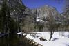 Yosemite Falls in Winter (dcnelson1898) Tags: yosemitenationalpark nps california sierranevadamountains sierranevada park nationalparkservice mountains snow winter trees outdoors mercedriver