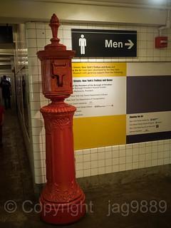 Emergency Call Box, New York Transit Museum, Brooklyn, New York City