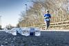 Discarded (Bob the Binman) Tags: thorpe halfmarathon jogging running race surrey thorpepark egham virginiawater lyne nikon d7100 street