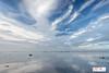 Wierum Friesland (Reina Smallenbroek) Tags: reinasmallenbroek wierum friesland sky lucht waddenzee wadden waddensea water mirror spiegel reflectie canon