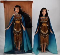 Boxed vs Deboxed Pocahontas LE 17'' Doll (drj1828) Tags: pocahontas disneystore us limitededition 16inch doll le4500 posable instore purchase 2018 collectible animated deboxed standing sidebyside comparison boxed