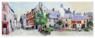 Quimper - Bretagne - France - pl. du beurre