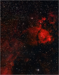 IC1795 Fishhead Nebula (mikeyp2000) Tags: fish astrophotography dso head space fishhead ic1795 nebula