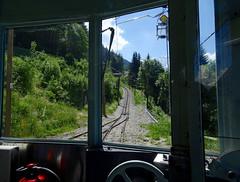 View from Tramway du Mont Blanc. Saint-Gervais-les-Bains. (elsa11) Tags: tramwaydumontblanc montblanc montblancmassif saintgervaislesbains lefayet niddaigle alps alpen mountains montagnes tram train rackrailway france frankrijk hautesavoie rhonealps auvergnerhonealpes
