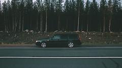 855 (ARTEMY KOZODAEV) Tags: volvo estate 850 v70 t5 canon 6d wide lens 28 mm wallpapers forest colour lightroom road trip sunset