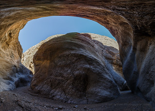 California Slot Canyon Panorama