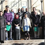 Students from the Eastern Orthodox Christianity class took a field trip