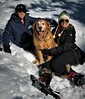 Fun In The Snow (The VIKINGS are Coming!) Tags: snow tahoe snowshoes ladies beautiful dog frolic