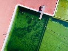 Freibad Sand (Marcel Cavelti) Tags: djimavicpro flight drone chur switzerland schweiz town hometown green freibad schwimmbad sand badi