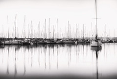 Marina Mirror (8230This&That) Tags: marina sunrise boats sailboats bayscape seascape waterside galesville maryland md fineartphotography waterfront morning goodmorning