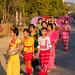 Novice monk procession