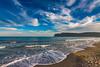 Tramonto al Poetto (twentyseven red) Tags: poetto cagliari sardegna grandangolo tokina sunset tramonto sardinia sea seaside mare spiaggia sole