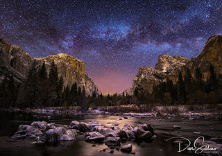 Milky Way over Valley View