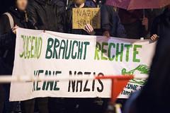 klslene997 (Felix Dressler) Tags: hamburg merkelmussweg kundgebung dammtor protest reichsbürger pegida