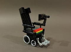 RIP Stephen Hawking (1942 - 2018) (Ochre Jelly) Tags: lego moc afol hawking cosmology rip