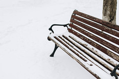 Aufnahme einer mit Schnee bedeckten Sitzbank. Winter (marcoverch) Tags: wood natural winter nature snowcovered frost day beauty background snow seasonal outdoors park ice landscape season bench wooden outdoor vacation empty white cold weather covered frosty urban travel tree benches forest city snowfall climate snowy nobody scene beautiful frozen aufnahme mitschneebedeckt sitzbank flickr sigma bar airbus natur 7dwf studio florida island blanc