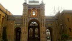 The gate of National Garden, Tehran (afs.harp) Tags: garden gate historical old tehran door sky