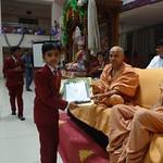 BEST CREATIVE STUDENT OF SGIS AWARD ~ 2017-18 - Junior
