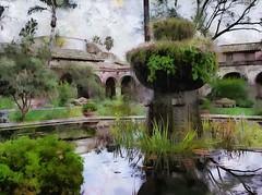 Mission Reflection (John Shedrick) Tags: dynamicautopainter art painting digital paintingfromphoto