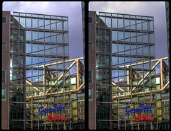 Berlin, Potsdam Square 3-D / CrossEye / Stereoscopy / HDRaw (Stereotron) Tags: berlin spreeathen mitte metropole hauptstadt capital metropolis brandenburg city urban architecture contemporary modern potsdamerplatz europe germany deutschland crosseye crosseyed crossview xview cross eye pair freeview sidebyside sbs kreuzblick 3d 3dphoto 3dstereo 3rddimension spatial stereo stereo3d stereophoto stereophotography stereoscopic stereoscopy stereotron threedimensional stereoview stereophotomaker stereophotograph 3dpicture 3dglasses 3dimage canon eos 550d chacha singlelens kitlens 1855mm tonemapping hdr hdri raw