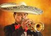Mexican Brass (Wes Iversen) Tags: arizona cincodemayo nikkor18300mm sedona tlaquepaqueartscraftsvillage men musicalinstruments musicians people portraits sombreros texture trumpets