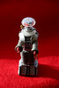 """078/365 Robot in Sidelight (ruthlesscrab) Tags: wah """"we'rehere"""" hereios """"365the2018edition"""" 3652018 sidelight backlight robot toy 19mar18 day78365"""