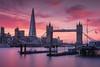 London's Burning (Andrew G Robertson) Tags: london shard river thames tower bridge sunset sunrise
