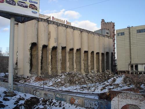 Демонтаж Мукомольного завода ©  ayampolsky