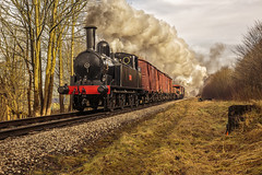 KWVR 2018_03_11_059 (Phil_the_photter) Tags: steam steamengine steamloco steamrailway steamgala kwvr keighley 70013 olivercromwell black5 blackfive 44871 oakworth coaltank 1054 7f 53808 oxenhope