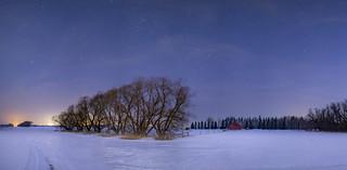 St.Albert Winter Night