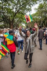 Zimbabwe tells Robert Mugabe to go! Solidarity March, 18 Nov 2017 (Zimbabwean-eyes) Tags: zimbabwe solidarity march mugabe politics coup harare africa