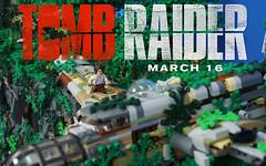 Tomb Raider Teaser 3 (Brick.Ninja) Tags: lego tomb raider movie laura croft playstation video game