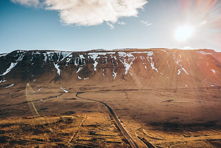 Mountains and road   Iceland 2018 [Explored]