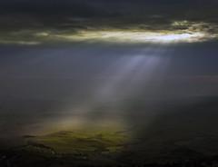 In.. spires (Robyn Hooz) Tags: montalcino vino ray nuvole sun tuscany toscana raggi colline hills italy sky cielo dream sogno