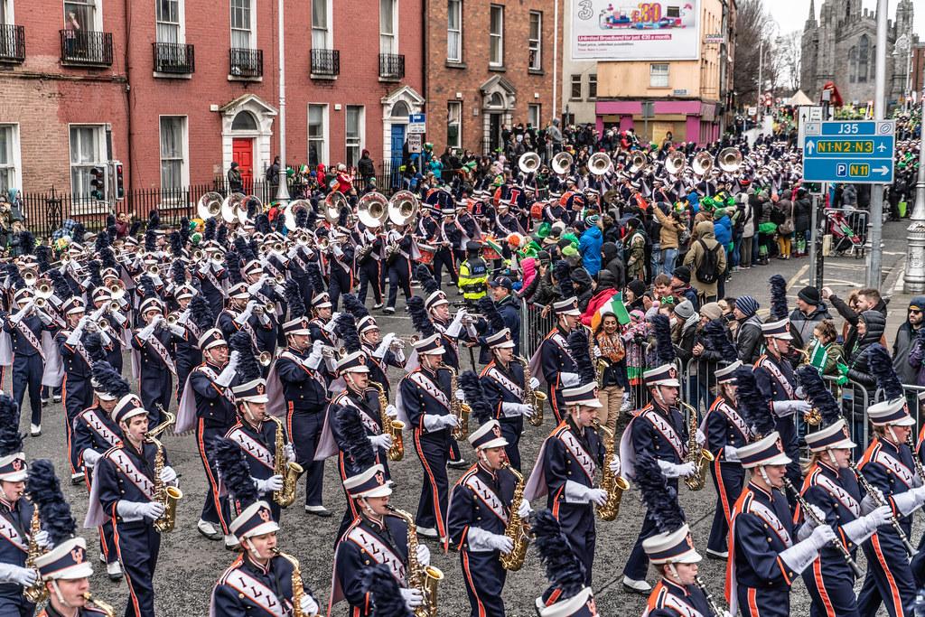 DUBLIN SAINT PATRICKS PARADE 2018 [THE MARCHING ILLINI]-137404