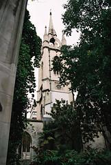 St Dunstan-in-the-East (Matthew Huntbach) Tags: stdunstanintheeast church ruins cityoflondon ec3 fujisuperia200