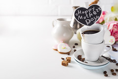cup on a cup with espresso coffee on a white background (lyule4ik) Tags: coffee drink espresso cup beverage breakfast white hot mug cafe brown caffeine black aroma isolated liquid porcelain filter top break fresh foam latte mocca organic view decaf morning aromatic bio food shop coffeecup cappuccino bean pleasure coffeebeans coffeefoam object energy plate restaurant grain background italian small table spoon close
