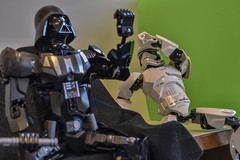 I Hate My Boss (Andy Jah) Tags: starwars lego adulttheme vader stormtrooper indoors toys