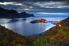 Husøy Evening (hapulcu) Tags: arctic husøy norge noruega norvege norvegia norway norwegen senja troms automne autumn autunno herbst høst toamna