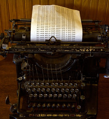 AllWorkNoPlay (blancopix) Tags: all work old typewriter movie nostalgia stanley hotel the shining
