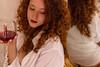 Red wine (LuxTDG) Tags: glass calice viro rosso bacco dionysus ritratto portrait primo piano closeup modella model giovane ragazza young lady girl bambola doll bellezza charm capelli ricci mossi rossi curly red hair occhi eyes see sguardo look mani hands rossetto lipstick labbra lips camicia bianca white shirt specchio mirror reflection sirena mermaid topless breast tits boobs seno tette nude naked ass butt bum buttocks natiche culo sedere chiappe