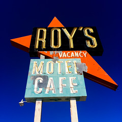 Roy's (Thomas Hawk) Tags: amboy america california route66 roys usa unitedstates unitedstatesofamerica gasstation motel neon us fav10 fav25 fav50 fav100