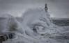 South Breakwater 03 (avaird44) Tags: seascape sea water pier lighthouse storm waves aberdeen southbreakwater coast birds gulls scotland