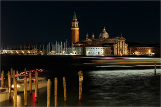 Venice light trails