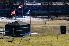 Christie Pits (jer1961) Tags: toronto christiepits flags ballpark baseballdiamond baseball fences