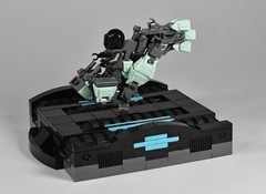 Finally Used Them! (dzambito42) Tags: lego speederbike speeder bike lsb district18 scifi