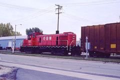 GB&W RS3 #306 in Green Bay WI on 10-10-81 (LE_Irvin) Tags: gbw greenbaywi rs3